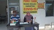 Ketatnya Pemeriksaan di Desa Kediri Ini Demi Putus Penularan Corona