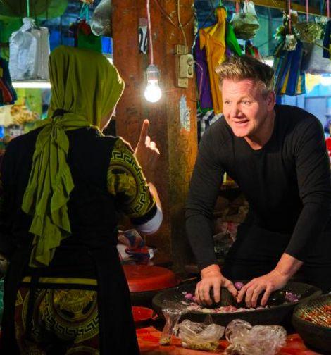 Gordon Ramsay syuting Uncharted di Sumatera Barat