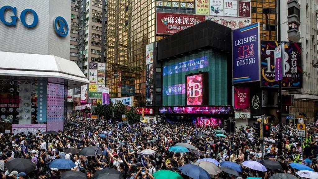 Video Kericuhan Demo di Hong Kong saat Pandemi Corona