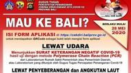 Mau Wisata ke Bali Pasca Corona? Ini Aturan Wajibnya