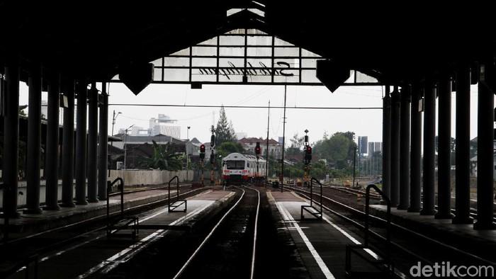 Stasiun Balapan di Masa Pandemi