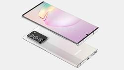 Render Galaxy Note 20+ Terkuak dengan Layar Lebih Besar