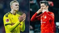 Dortmund Vs Bayern: Adu Tajam Haaland dan Lewandowski