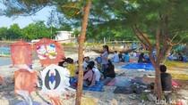 Lebaran Kedua, Warga Surabaya Nikmati Wisata di Tengah Pandemi Corona