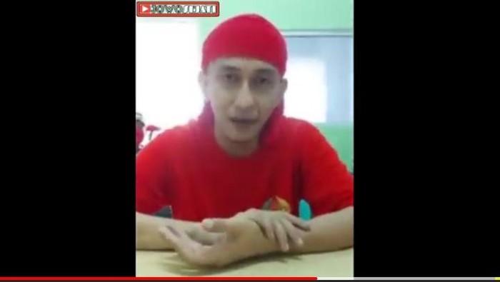 Video kondisi terkini Habib Bahar di Lapas Nusakambangan, Senin (25/5/2020).