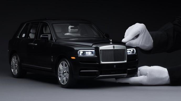Diecast Rolls Royce Cullinan