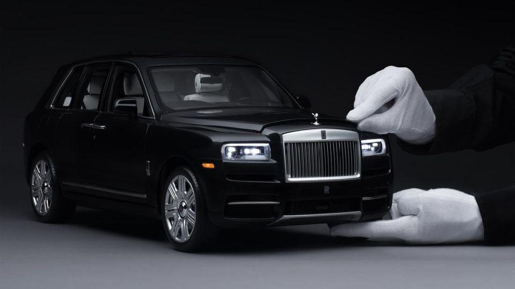 Begini Wujud Diecast Rolls-Royce Termahal di Dunia Seharga Rp 253 Juta