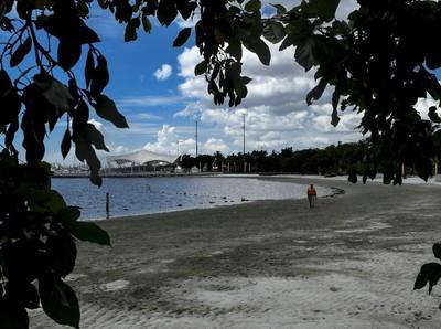 Pantai Ancol Masih Ditutup Untuk Wisawatan