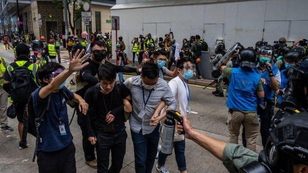 Picu Aksi Protes di Hong Kong, Apa Isi RUU Keamanan yang Diusulkan China?