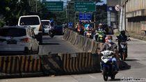 Akses Putar Balik Jauh, Pemotor di Ciledug Terpaksa Lawan Arah