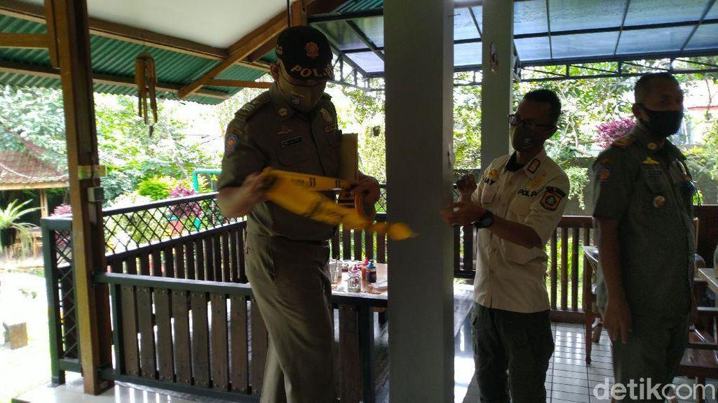 Satpol PP Segel Tempat Makan di Puncak Bogor: Dia Bohongi Kami