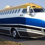 Pesawat Boeing 727 Disulap Jadi Bus Darat nan Mewah