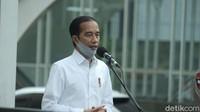Jokowi: Tadi Pagi Tren R0 Jakarta Sudah di Bawah 1, Perlu Ditekan Terus