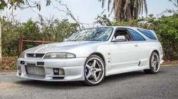 Ketika Nissan Skyline GT-R Dimodifikasi Jadi Mobil Keluarga, Oke Tidak?