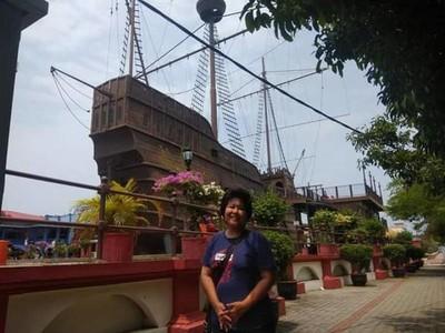 Hang Tuah Abadi di Muzium Samudera Melaka Ini