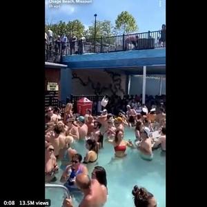 Corona Merajalela di AS, Dokter Murka Lihat Ratusan Orang Liburan di Danau