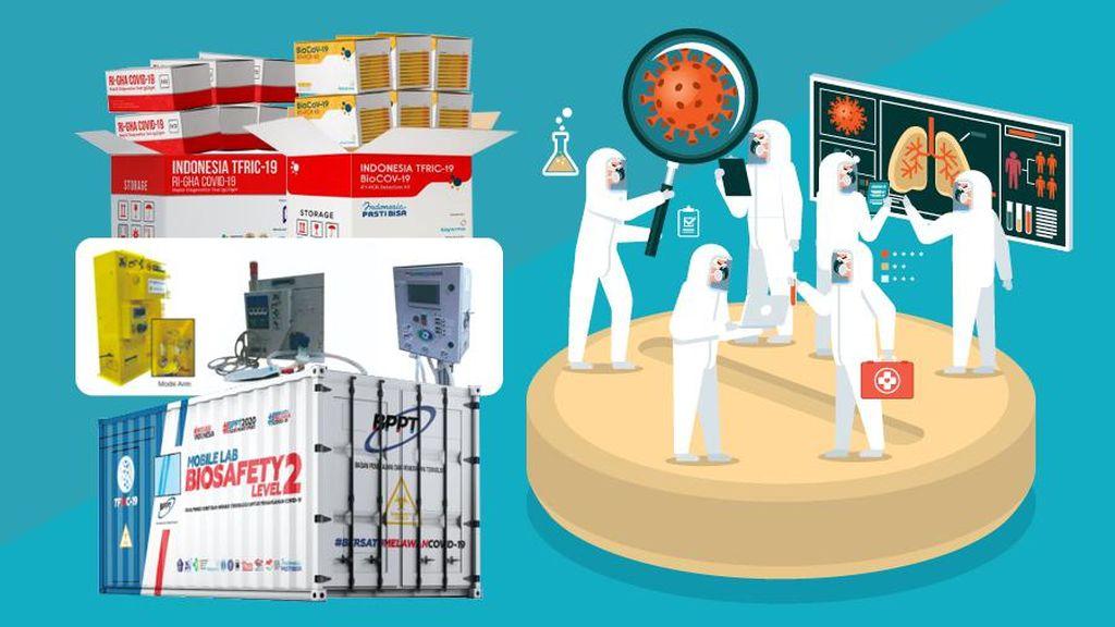 Sinergi Hasilkan 5 Inovasi Alat Kesehatan Tangani Pandemi