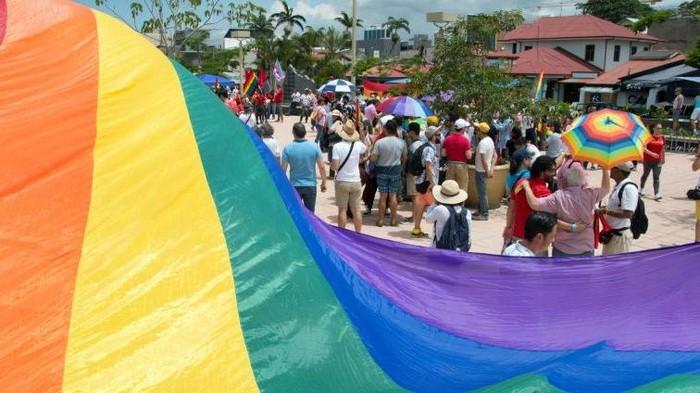 Kosta Rika legalkan pernikahan sesama jenis (AFP Photo)
