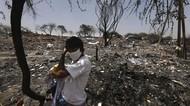 Kawasan Kumuh di India Porak Poranda Dilalap Si Jago Merah
