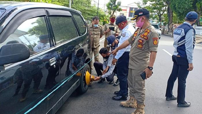 Parkir liar di sekitar Balai Kota Makassar ditertibkan