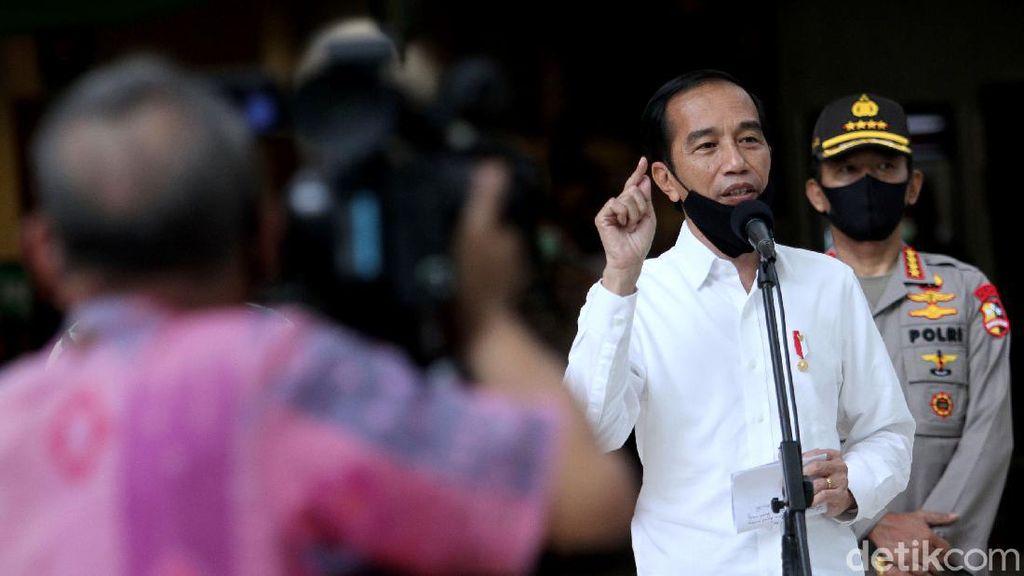 Perintah Tegas Jokowi: Masifkan Uji Sampel di Daerah dengan Kurva Tinggi