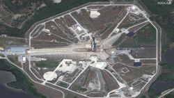Penampakan Roket SpaceX dari Antariksa Sebelum Meluncur