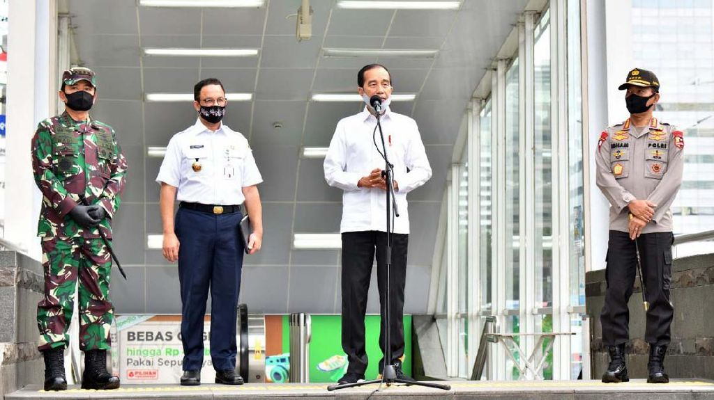 Soal New Normal, Jokowi: Kita Ingin Produktif, tapi Aman COVID