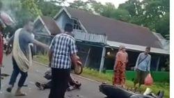 Kecelakaan Motor Vs Motor Polisi: Remaja Tewas, Ibunya Patah Kaki