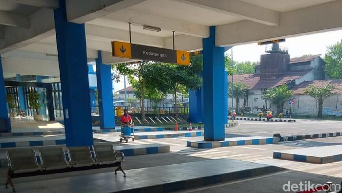 Terminal Ir Soekarno, Klaten sepi, Selasa (26/5/2020).
