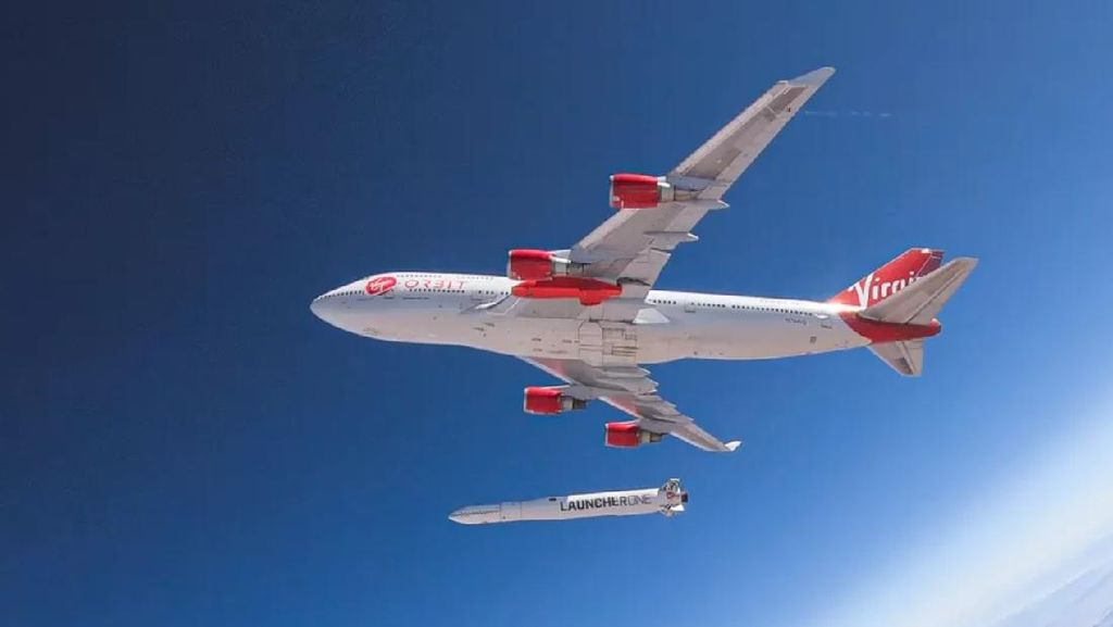 Penerbangan Perdana Roket Virgin Orbit Gagal Total