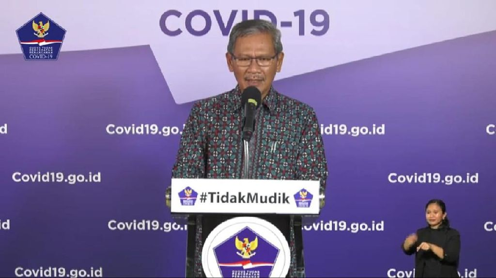Pemerintah Pantau 48.023 ODP dan Awasi 13.212 PDP Corona Per 2 Juni