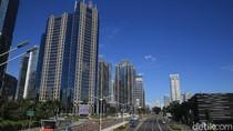 Melihat Lagi Biru Langit Jakarta yang Diklaim Terbaik Selama 5 Tahun Terakhir