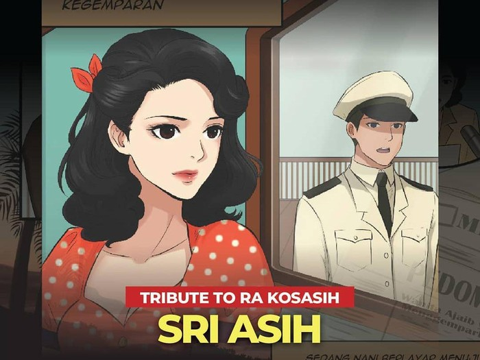 Komik Tribute Sri Asih