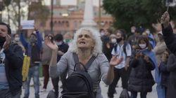 Warga di Argentina Demo Ingin Lockdown Disudahi