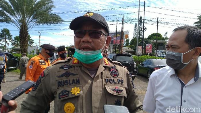 Kepala Bidang Ketertiban Umum Satpol PP Kabupaten Bogor Ruslan