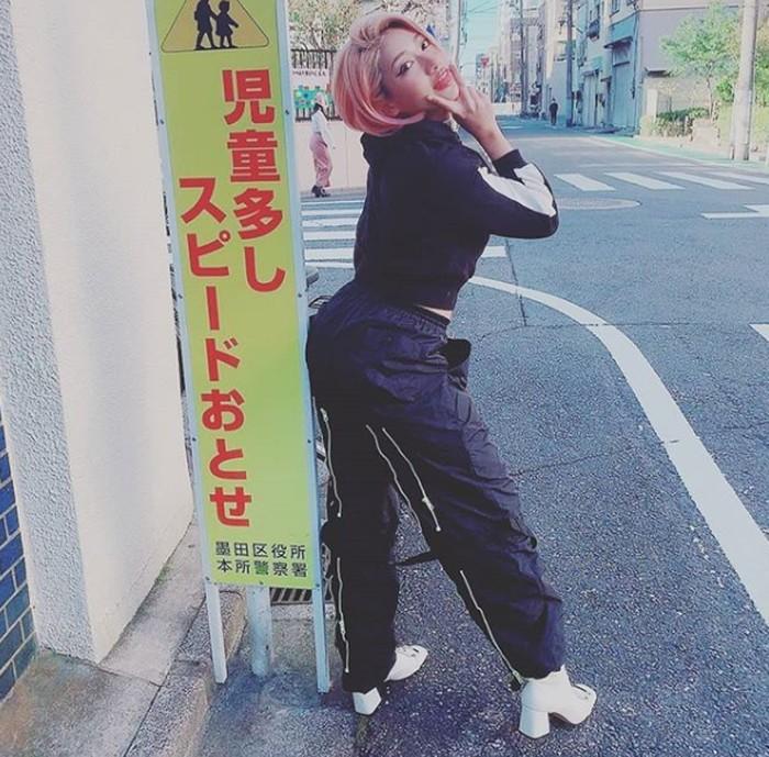 Hana Kimura, pegulat dan bintang Netflix yang meninggal di usia 22 tahun.