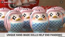 Boneka Monster Penangkal Corona dari Jepang Ini Laris Manis