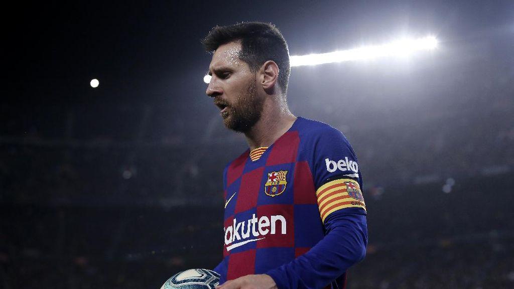 Betapa Kangennya Messi kepada Camp Nou