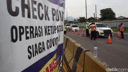 Hendak Kembali ke Jakarta,  4 Kendaraan Diputar Balik di GT Cileunyi