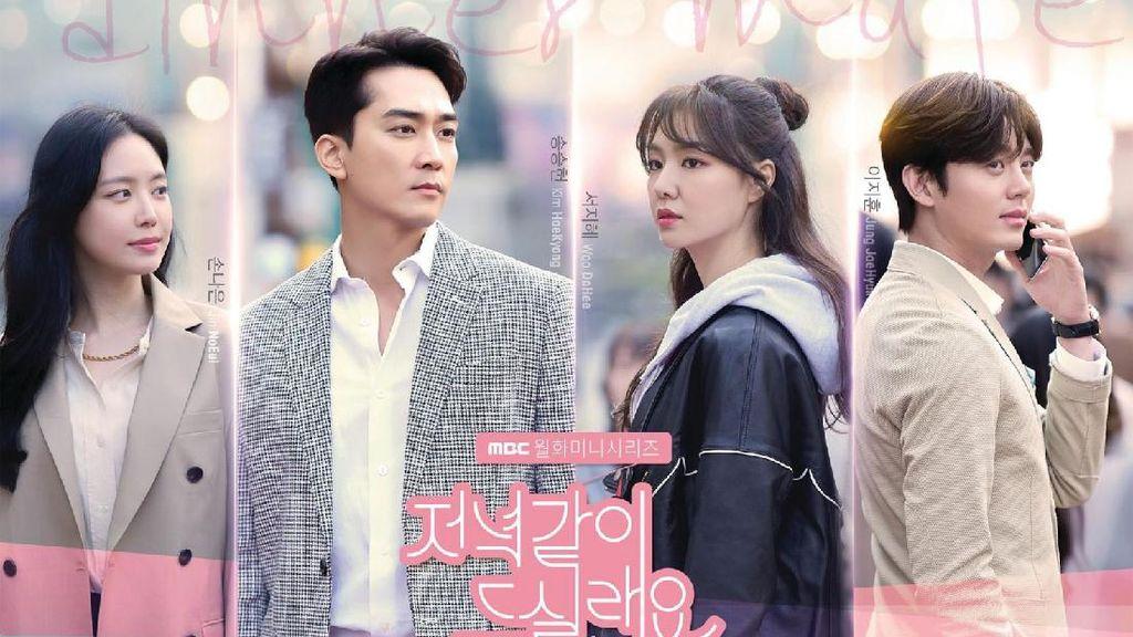Drakor Dinner Mate Tamat, Song Seung Heon dan Seo Ji Hye Ucapkan Perpisahan