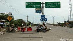 Lima Pintu Tol Arah Jakarta di Cirebon Ditutup