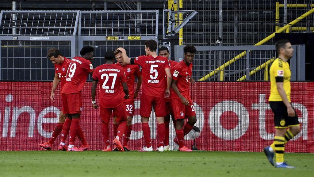Borussia Dortmund Vs Bayern Munich: Die Roten Menang 1-0