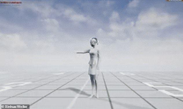 Presenter Berita 3D Pertama di Dunia