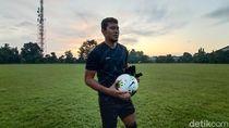 Kompetisi Ditangguhkan, Kiper PSIS Semarang Tetap Rutin Latihan