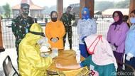 250 Warga Surabaya Ikut Rapid Test Massal dari Kodam V/Brawijaya