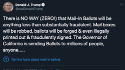 Serangan Balik Trump ke Perusahaan Medsos Gegara Label Tweet Palsu