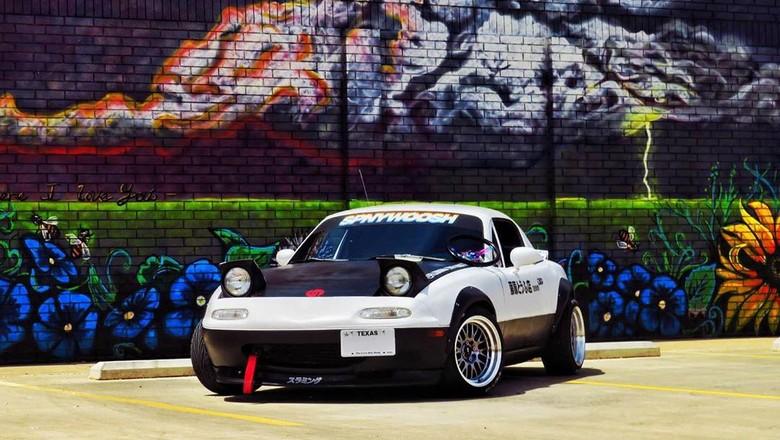 Mazda Miata MX-5 terinspirasi dari Intial D