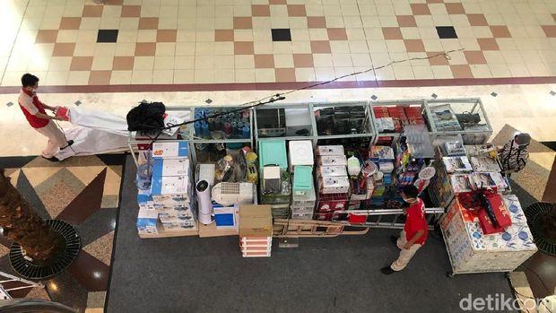 Penampakan suasana mal di Kota Bekasi jelang penerapan new normal