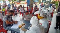 Ratusan Personel Polres Bengkulu Ikut Rapid Test Corona, Apa Hasilnya?