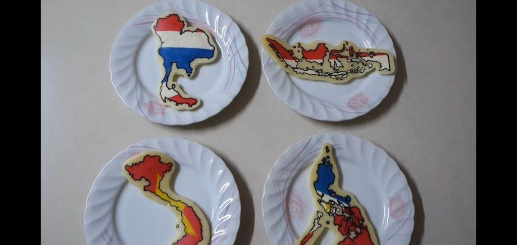 pancake peta indonesia